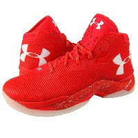 Under Armour Curry 2.5 メンズ Rocket Red/White アンダーアーマー バッシュ ステフィン・カリー
