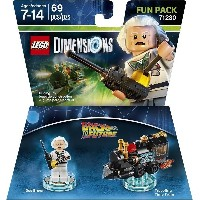 LEGO Dimensions Fun Pack Back to the Future Doc Brown レゴ Dimensions ファンパックバックトゥザフューチャードク・ブラウン (...