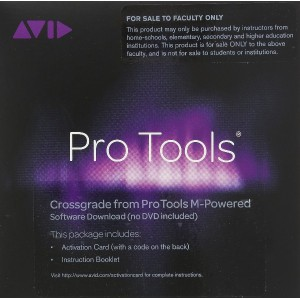 AVID Pro Tools M-Powered Crossgrade Activation Card , Teacher (ProTools M-Poweredからのクロスグレード版・教員用)