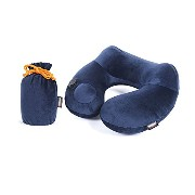 UBEST Neck Pillow - Travel Pillow Inflatable with Imbedded Pump for Sleeping with a Portable Bag...