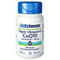 Life Extension Super Ubiquinol Coq10 with Biopqq Softgels, 30 Count 海外直送品