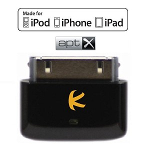 KOKKIA i10s+aptX (black) Apple公認iPod/iPhone/iPad 用小型Bluetooth iPodトランスミッター、aptX Bluetoothヘッドセット...