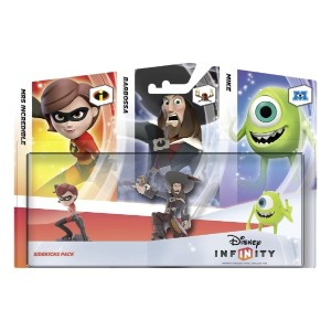 Disney Infinity Sidekicks 3 Pack (Xbox 360/PS3/Nintendo Wii/Wii U/3DS) (輸入版)