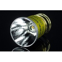 【Yellow Label】 SOLARFORCE ソーラーフォース LC-1 (Yellow 暖色 Warm LED 3700K , single mode, 3V - 18V) LED交換球