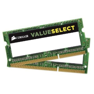 CORSAIR DDR2 667MHz 4GB(2GBx2枚) non-ECC 2x200pin SODIMM Unbuffered CL5 VS4GSDSKIT667D2 G