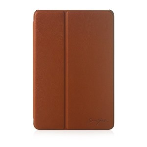 Brown-TrideaーiPad Mini Retina、 2 Ways Standing Folder Case、 iPad mini Retinaディスプレイモデル専用高級ケース...