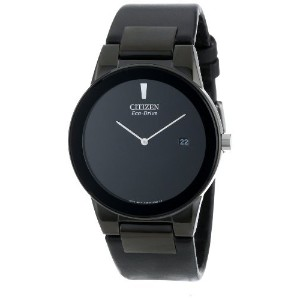 "シチズン Citizen Mens メンズ 男性用 AU1065-07E Eco-Drive Axiom"" Watch 腕時計 with Black Leather Strap"" [並行輸入品]"