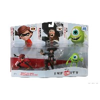 Disney Infinity Sidekicks 3 Pack (PS3/Xbox 360/Nintendo Wii/Wii U/3DS) (輸入版)