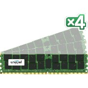 Crucial [Micron製] DDR4 サーバー用メモリー 16GB x4 ECC ( 2133MT/s / PC4-2133 / CL15 / 288pin / DR x4 /...