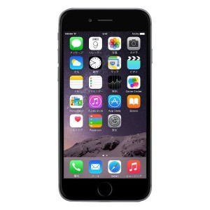 Apple au iPhone6 A1586 (MG4A2J/A) 128GB スペースグレイ