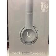 Beats by Dr.Dre Solo2 Wireless 密閉型ワイヤレスオンイヤーヘッドホン Bluetooth対応 BT ON SOLO2 WIRELS シルバー [並行輸入品]