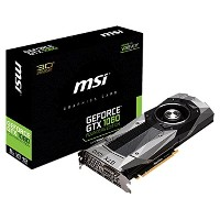 MSI NVIDIA Pascalアーキテクチャー採用 GeForce GTX 1080搭載グラフィックボード GEFORCE GTX 1080 FOUNDERS EDITION