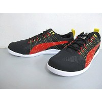 PUMA TECH EVERFIT + SF 10 305296-01 SIZE:25.5cm COLOR:BLACK-ROSSO CORSA【プーマ】【モーター】【ドライビング】【フェラーリ】...
