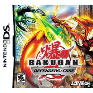 Bakugan 2: Defenders of the Core (輸入版:北米) DS
