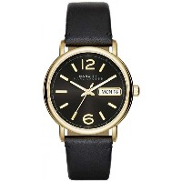 【マークバイマークジェイコブス】MARC BY MARC JACOBS Marc By Marc Jacobs Fergus Black Dial Black Leather Ladies...