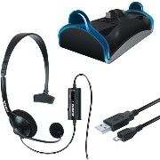 【並行輸入品】DreamGEAR Charge and Chat Bundle - PlayStation 4