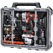 Black & Decker BDCDMT1206KITC Matrix 6 Tool ケースと工具コンボキッド