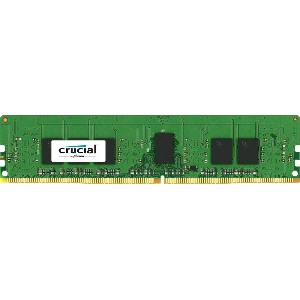 Crucial [Micron製] DDR4 デスク用メモリー 4GB ECC ( 2133MT/s / PC4-2133 / CL15 / 288pin / SR x8 / Unbuffered...