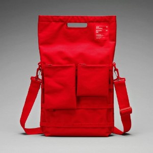 "Unit Portables 15 or 13インチPCバッグ Unit01 15"" Red"