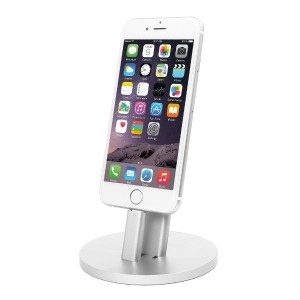 iDudu iphone デスクトップ 充電スタンド iPhone 7/ 7 Plus, iPhone 6S/6 Plus, iPhone 5/5S, iPad,iPod touch...