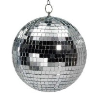 "ミラーボール 20cm [MIRROR BALL-8"" WITH COLOR BOX]"