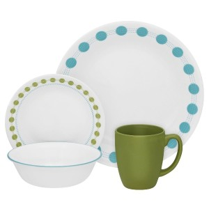 Corelle Living Ware 16-Piece Dinner Ware Set . South Beech