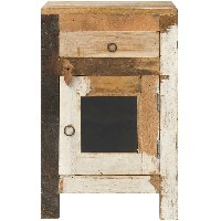 journal standard Furniture DREUX SMALL CABINET WHITE