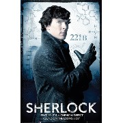 Sherlock Poster Sentiment is a chemical defect (61cm x 91,5cm)