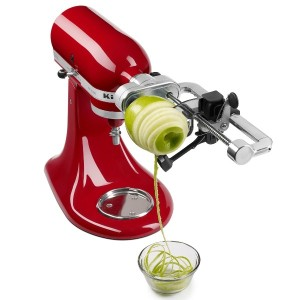 KitchenAid KSM1APC Spiralizer Attachment with Peel, Core and Slice [並行輸入品]