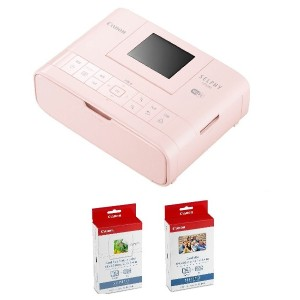 Canon プリンター SELPHY CP1200PK カードプリントキット ピンク