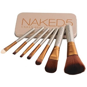 NAKED5 URBAN DECAY POWER BRUSH メイクブラシ 7本 セット ケース付