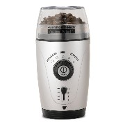 ハミルトンビーチ コーヒー グラインダー 並行輸入品 Hamilton Beach 80365 Custom Grind Hands-Free Coffee Grinder, Platinum