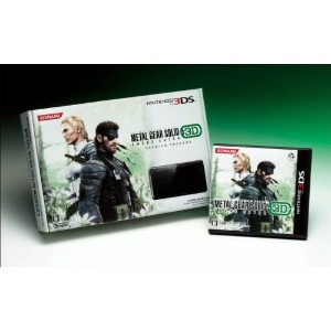 METAL GEAR SOLID SNAKE EATER 3D PREMIUM PACKAGE(3DS同梱) コナミスタイル限定盤(メタルギアソリッド スネークイーター)