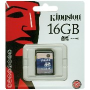 Kingston 16GB SDHC Class4 SD4/16GB