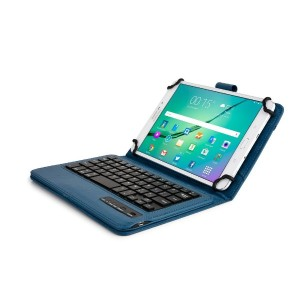 Cooper Cases (TM) Infinite Executive 7 - 8インチAcer Iconia Tab 8 FHD, 8 WタブレットBluetooth キーボードフォリオケース...