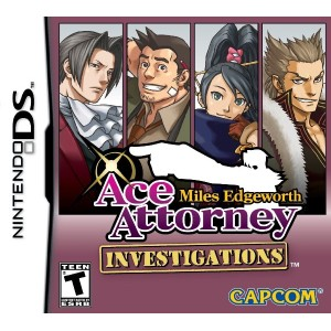 Ace Attorney: Miles Edgeworth (輸入版:北米) DS