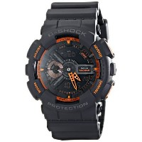 カシオ Casio Men's GA-110TS-1A4 G-Shock Analog-Digital Display Quartz Grey Watch 男性 メンズ 腕時計 【並行輸入品】