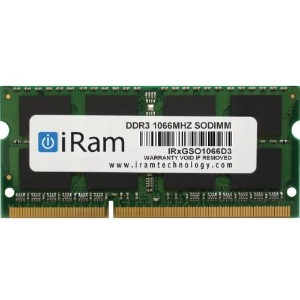 iRam Technology Mac用メモリ DDR3/1066 4GB 204pin SO-DIMM IR4GSO1066D3