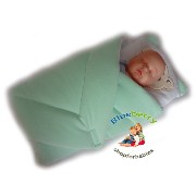 BlueberryShop Warm Velour with Pillow Swaddle Wrap Blanket Sleeping Bag for Newborn, baby shower...