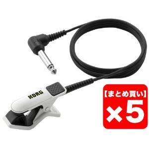 KORG CONTACT MICROPHONE CM-200-WHBK 5個セット