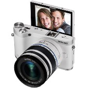 【並行輸入品】Samsung NX300M 20.3MP CMOS Smart WiFi & NFC Compact Interchangeable Lens Digital Camera with...