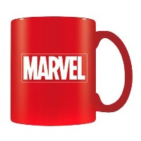 Marvel Logo Ceramic Mug, Multi-Colour by Marvel