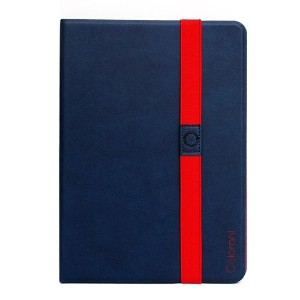 Colorant Book Cover for iPad Air - Blue - 自由な角度で調節可能なスタンド手帳型レザーケース - 日本正規流通品 - BC505