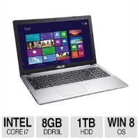 エイスース ノートパソコン ASUS X550 Series 15.6-Inch Touch-Screen Laptop (Core i7-4500U  1.8GHz/ 8GB Memory/...