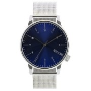 コモノ KOMONO Unisex KOM-W2353 Winston Royale Series Analog Display Japanese Quartz Silver Watch 女性...