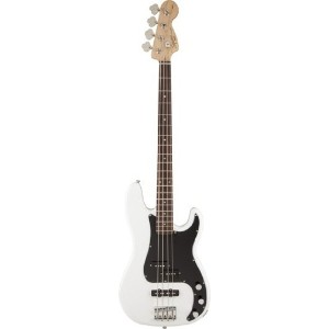 Squier by Fender (スクワイヤー by フェンダー) FSR Affinity PJ Bass Olympic White (ベース) ソフトケース付き