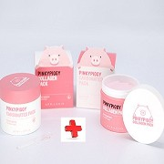 April Skin Pinky Piggy Pack Set (Collagen Pack 100g*1 + Carbonated Pack 100g*1)/100% Authentic...