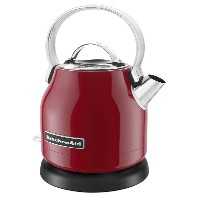 【並行輸入】KitchenAid キッチンエイド KEK1222ER 1.25-Liter Electric Kettle - Empire Red 電気ケトル