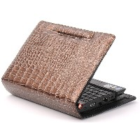 Sweetcover Acer Aspire one、HP 2133 Mini-Note PC用 ブラウン JPACERHPBROWN