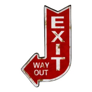 HOUSE USE PRODUCTS SIGN LIGHT [ EXIT ] サインライト